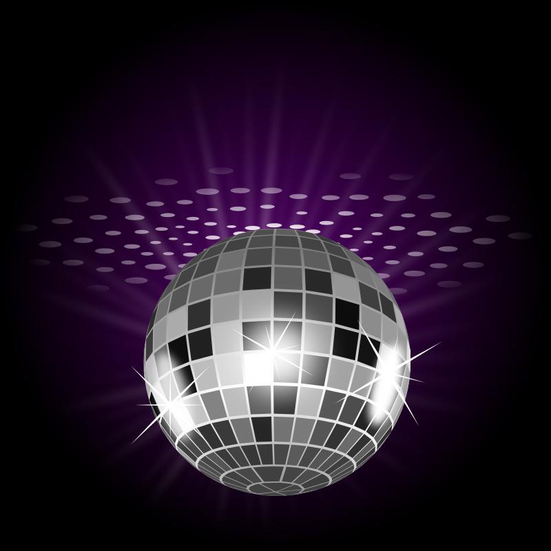 Free Clipart: Disco ball.