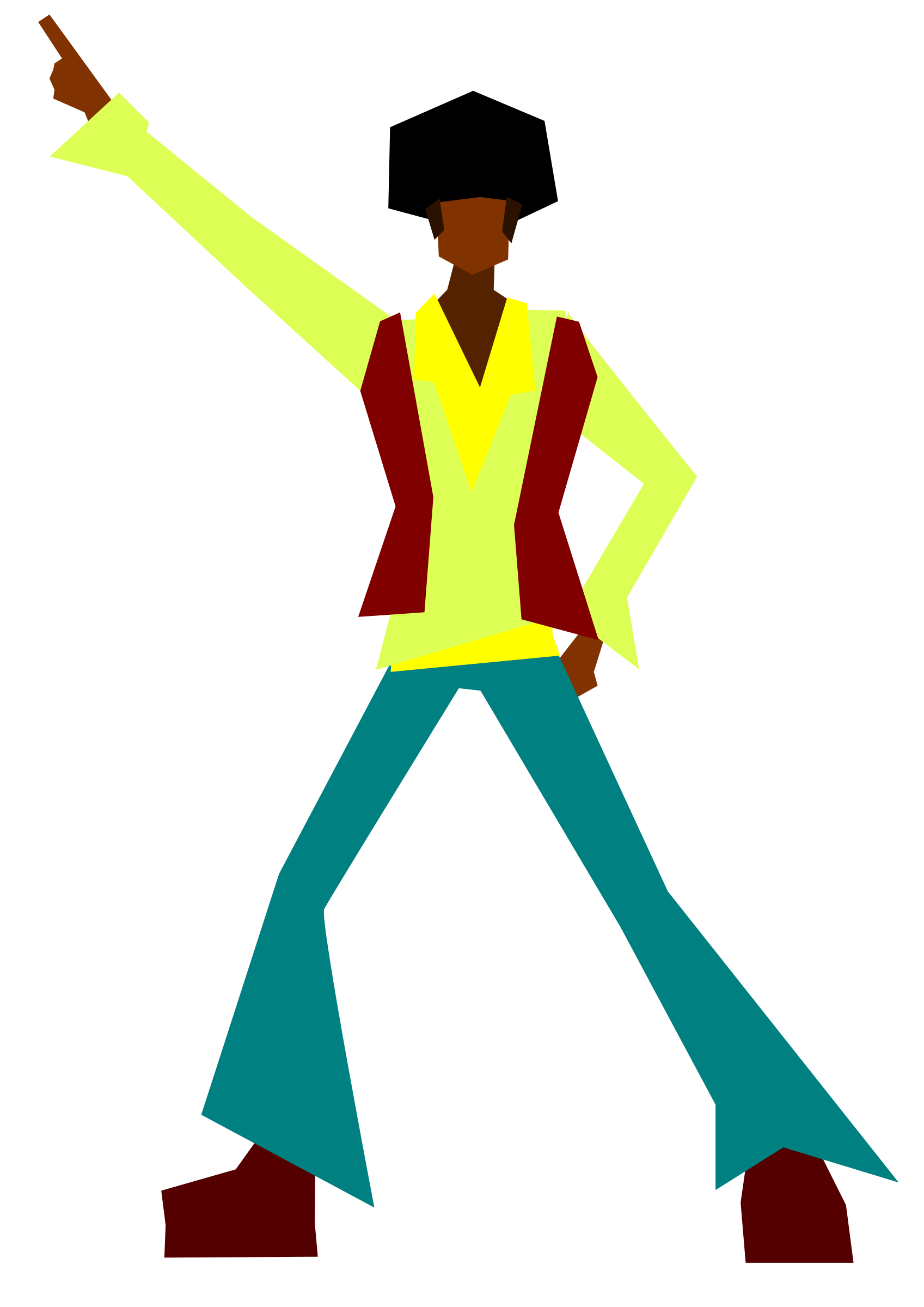 Clipart disco dancer.
