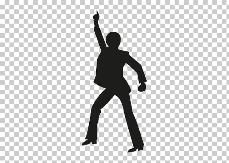 Dance Silhouette Nightclub, John Travolta PNG clipart.