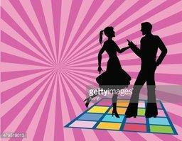 Disco Dance Floor stock vectors.