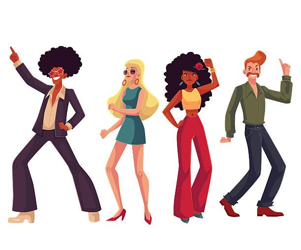 Best Disco Dancing Illustrations, Royalty.