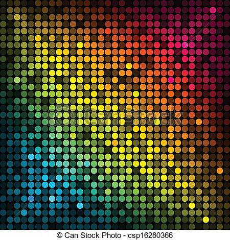Disco Lights Clipart.