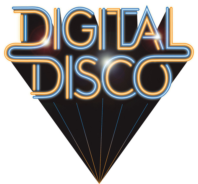Digital Disco logo design.