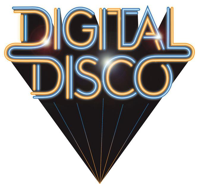 Digital Disco logo design.