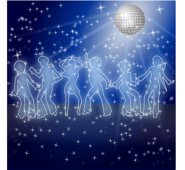 Disco Dancing Night Clip Art at Clker.com.