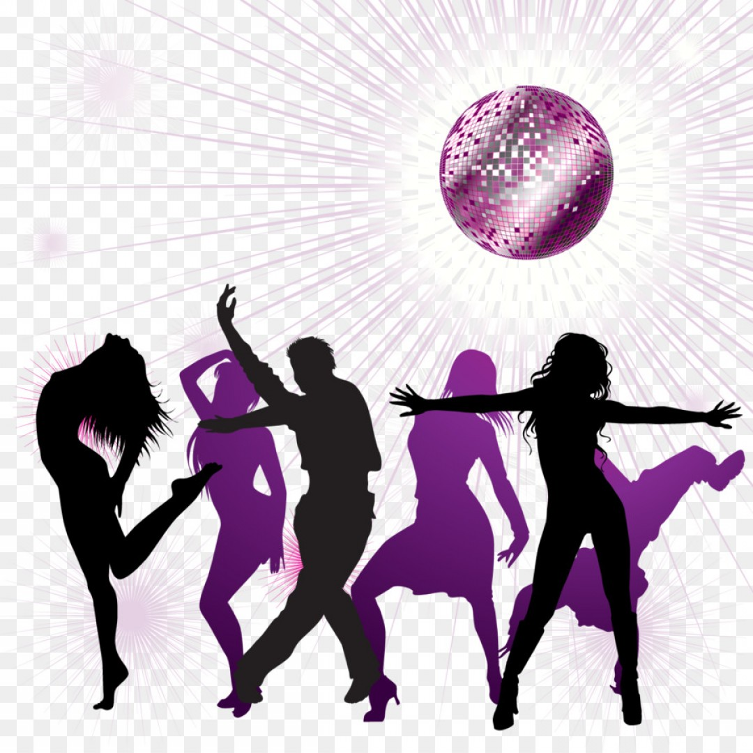 Png Disco Ball Nightclub Dance Ray Concert Poster Vect.