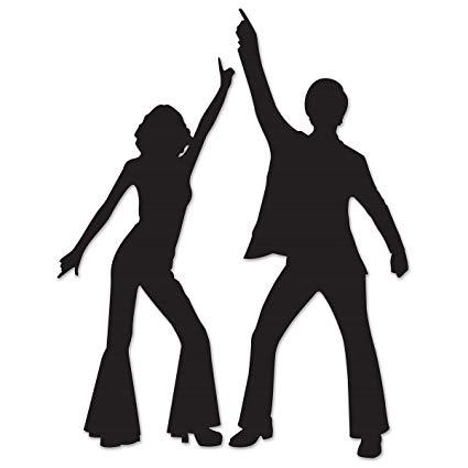 Amazon.com: Club Pack of 24 Black Male and female Disco.