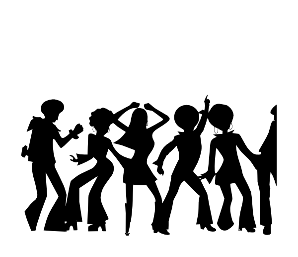Dance Party clipart.