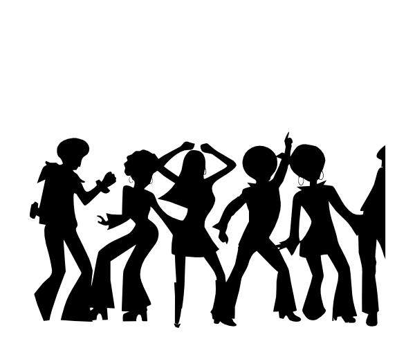 Dance Party clipart.