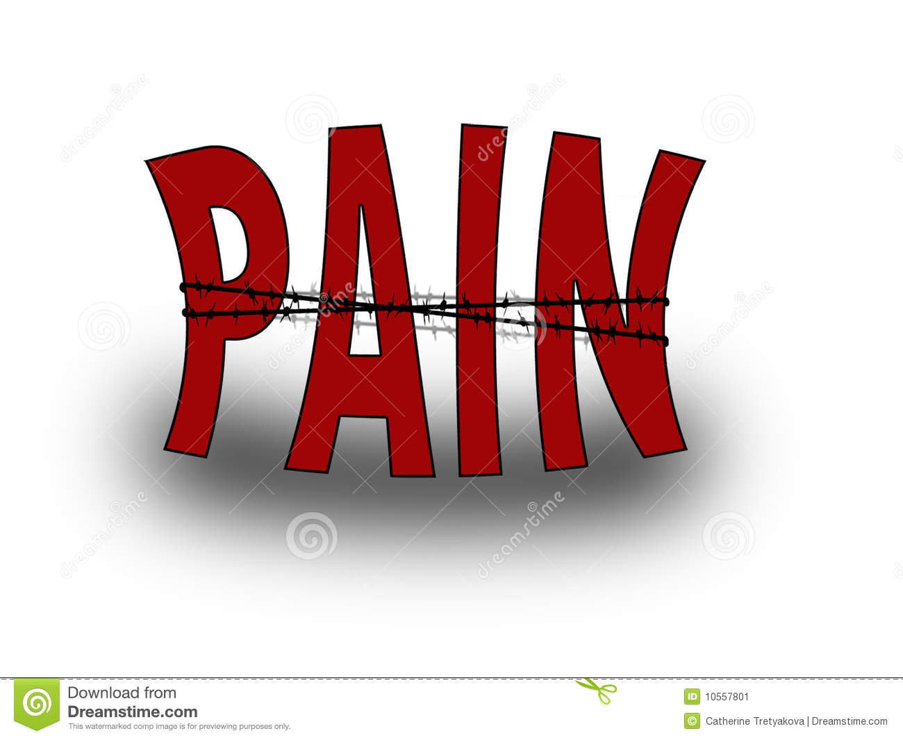 Pain cliparts.