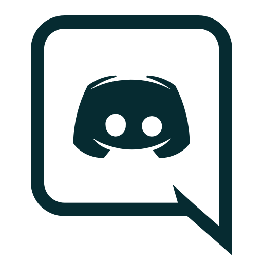 Chat, discord, gaming icon.
