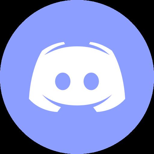 Circle, discord, gaming, messenger, round icon icon.