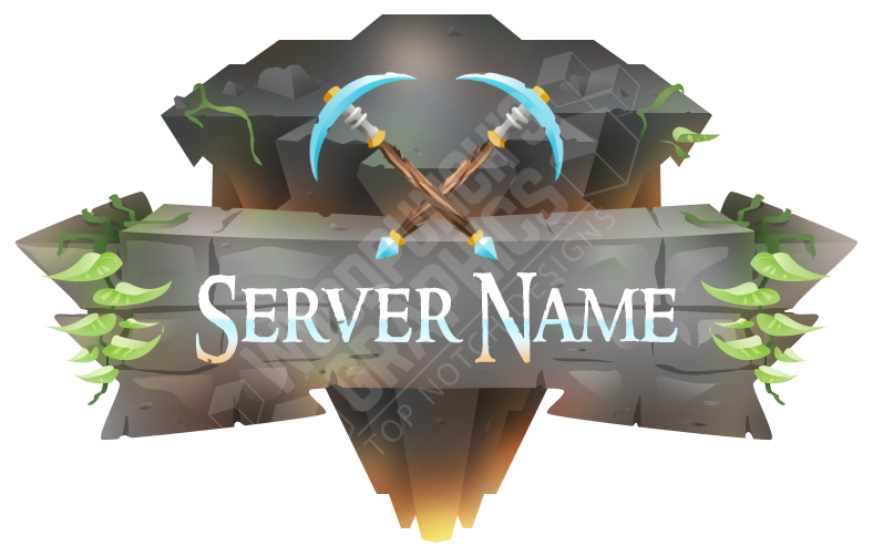 New Minecraft Server Logo.