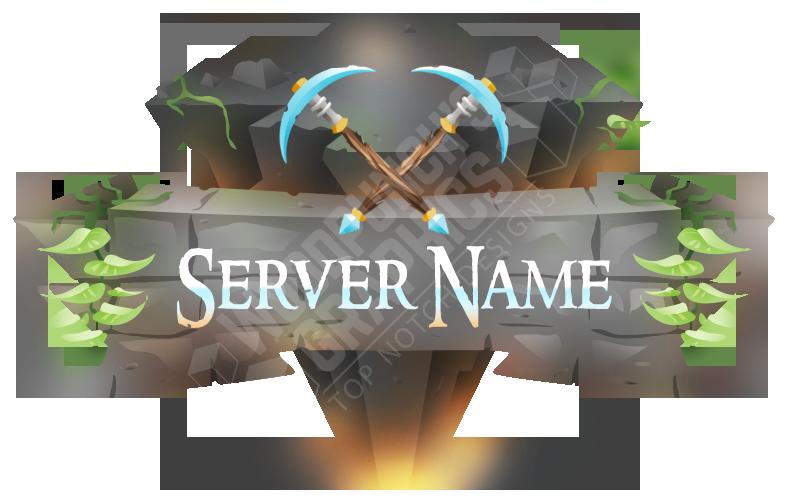 New Minecraft Server Logo.