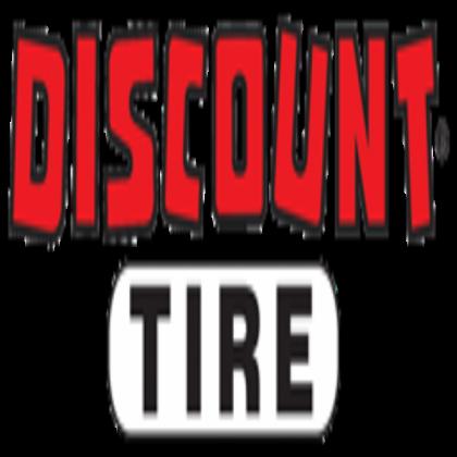 Discount Tire Logo.