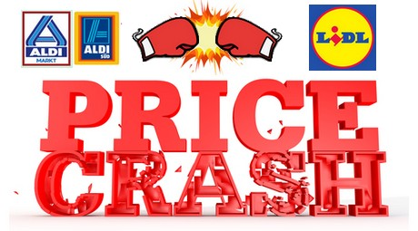 Discounters drop prices, pressure competition.
