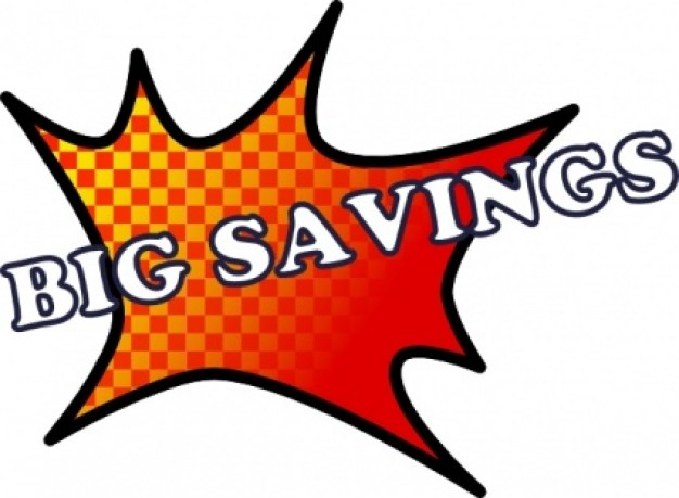 Discount Savings Clipart.