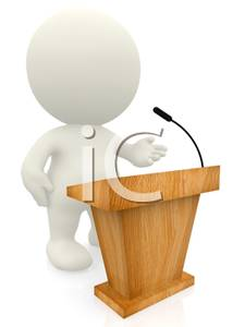 Lecture Speaker Clipart.
