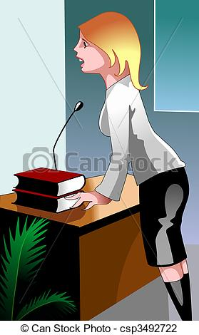 Clip Art of Business women.
