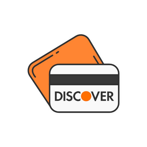 card credit card debit card discover icon.