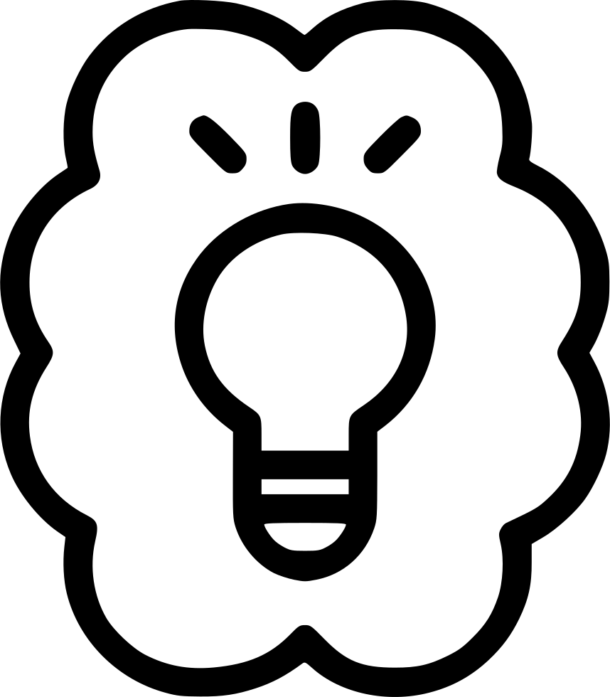 Idea Bulb Think Brain Knowledge Discover Invention.