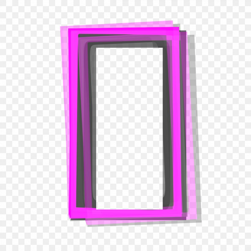 Picture Frames Image Clip Art Sticker Rectangle, PNG.