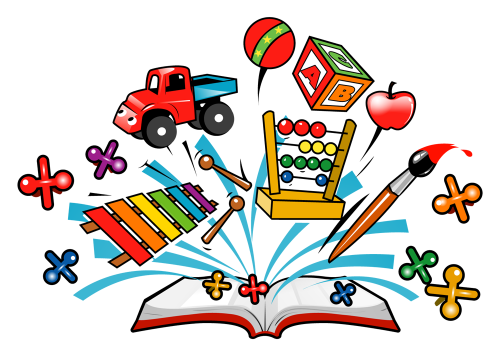 Discovery Learning Clipart.