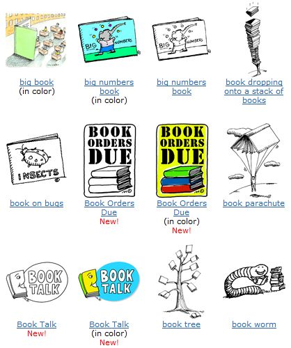 Free Educational Clip Art for Teaching Materials.