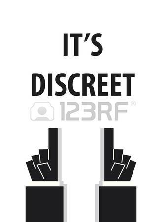 Discreet clipart.