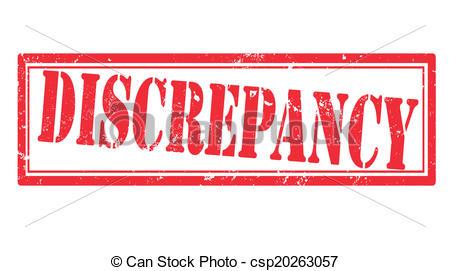 Discrepancy Vector Clipart EPS Images. 23 Discrepancy clip art.