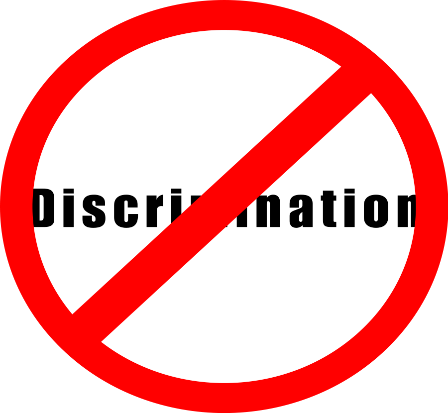 Free discrimination clipart.