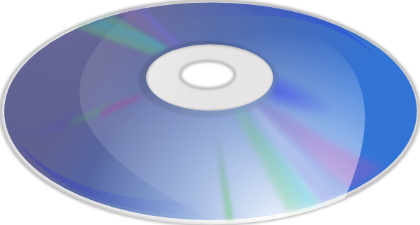 Blue Ray Disk clip art Free Vector / 4Vector.