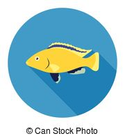 Cichlid Clip Art Vector Graphics. 56 Cichlid EPS clipart vector.