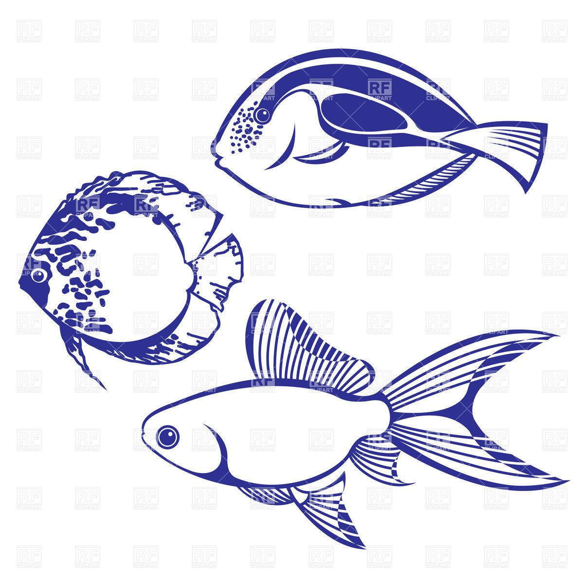 Tropical Fish Clipart.