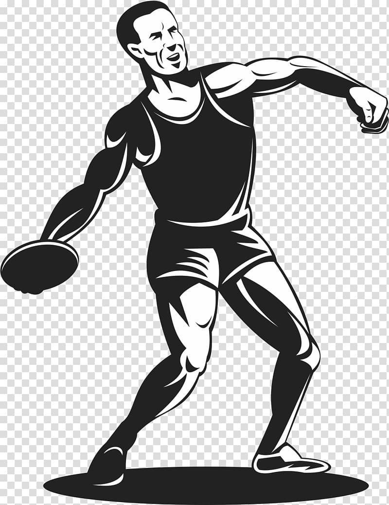 Discus throw Athlete Track and field athletics , Discus.