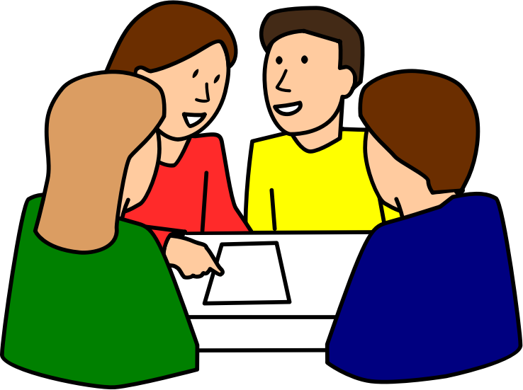 664 Discussion free clipart.