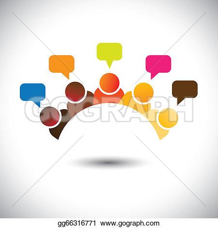 Discussion Clip Art.