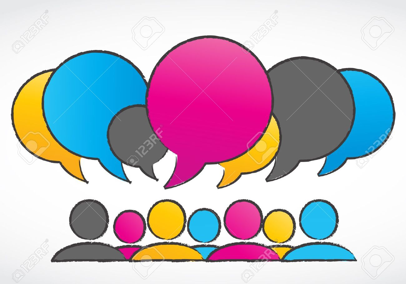 Discussion clipart free.