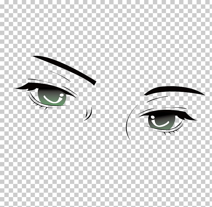 Eyebrow Light , Light pupil,Disdain,Sharp eyed PNG clipart.