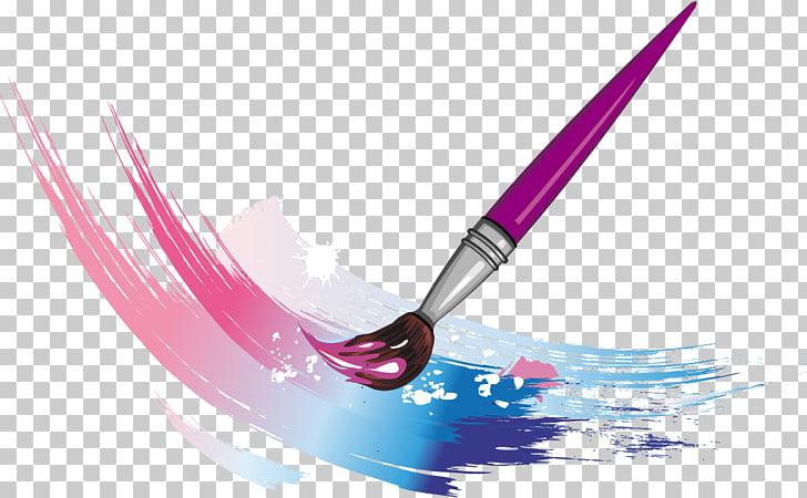 Pincel de diseño gráfico pintura, pintura PNG Clipart.