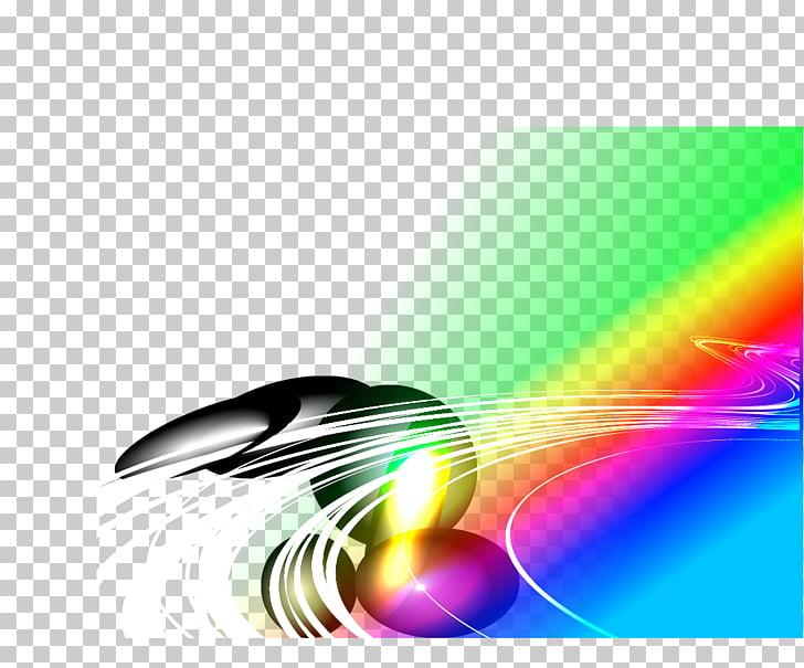 Línea de diseño gráfico, líneas tecnológicas. PNG Clipart.