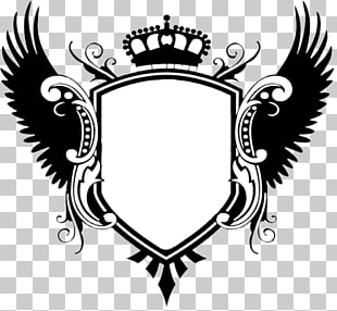 Dise os de escudos en blanco con alas clipart clipart images.