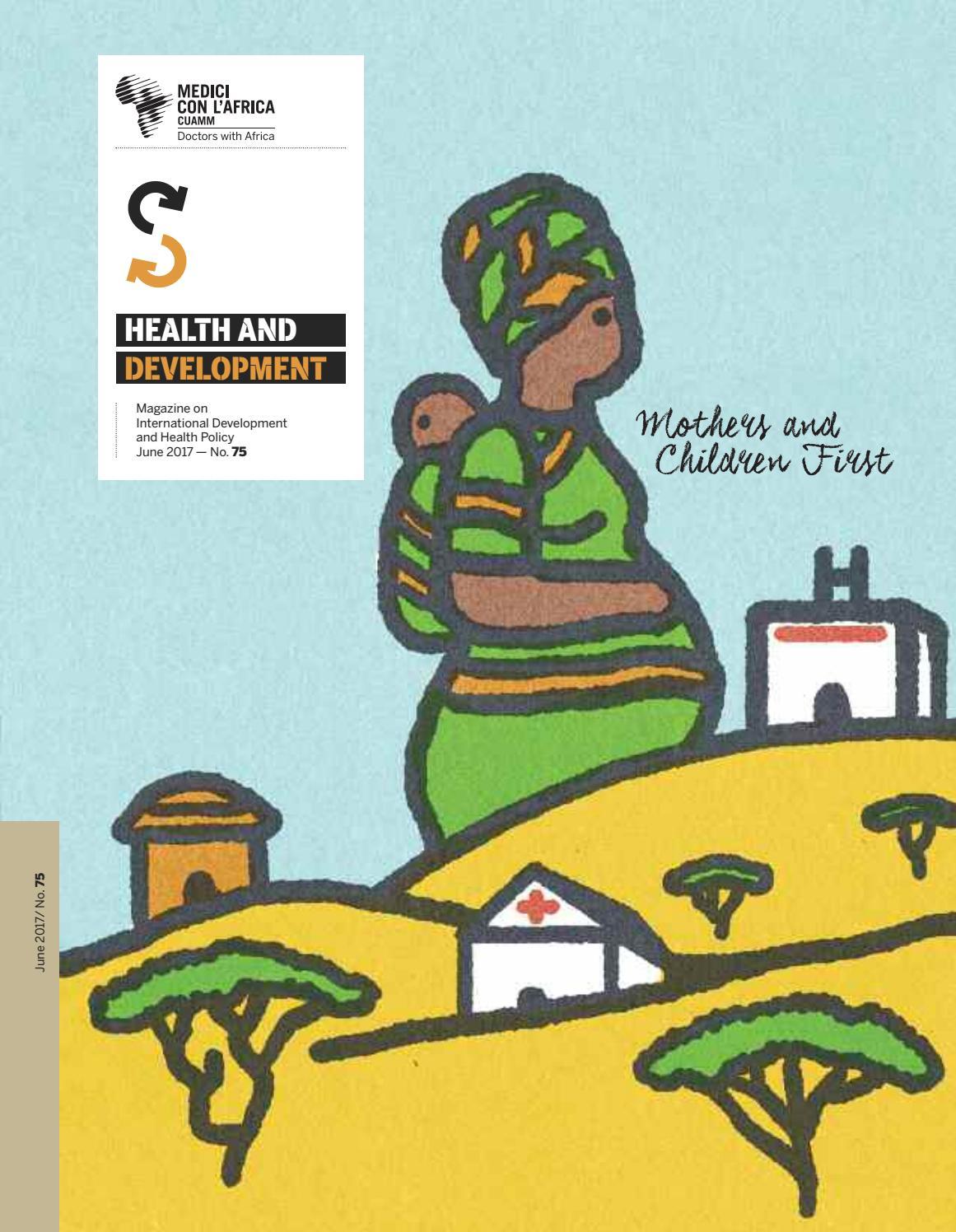 Health & Development n. 75 June 2017 by Medici con l\'Africa.