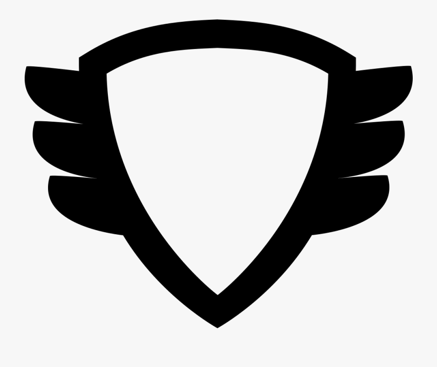 Shield Clipart Winged.