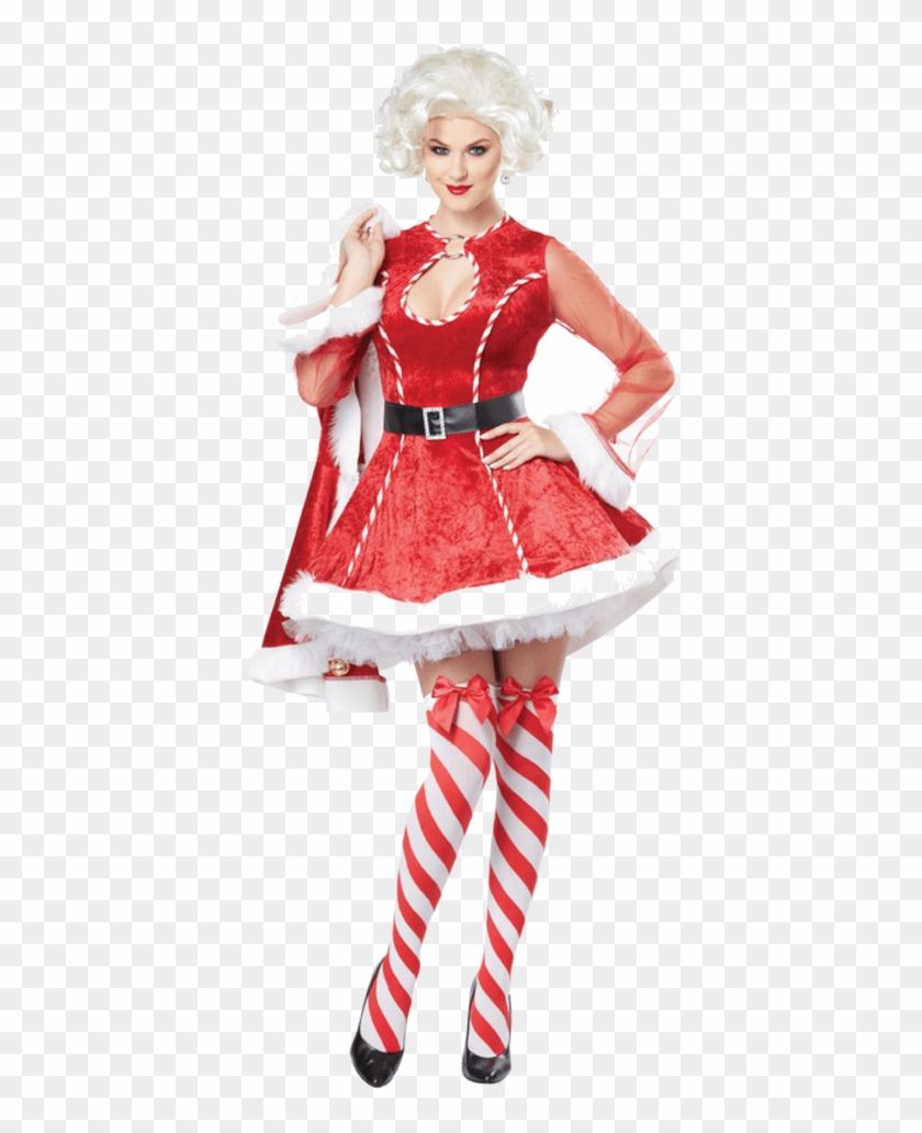 Sexy Mrs Claus Costume.