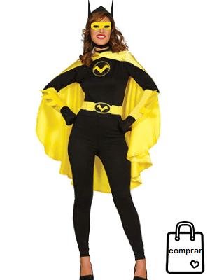 DISFRACES HEROÍNAS #disfraces #carnaval #party #superhéroes #mujer.