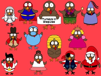 Turkey In Disguise Clipart Worksheets & Teaching Resources.