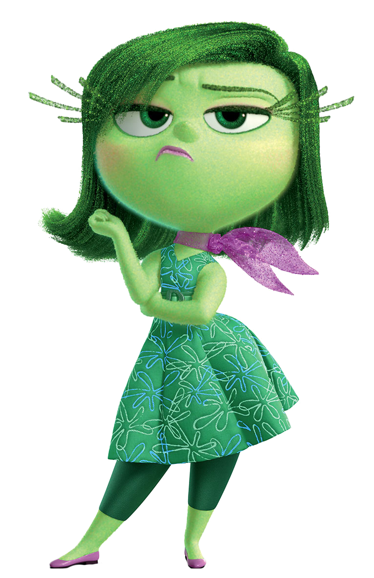 Inside out clipart disgust.