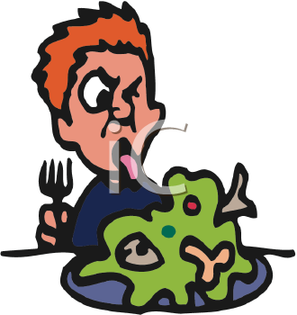 Disgusting food clipart.