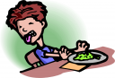 Gross food clip art.